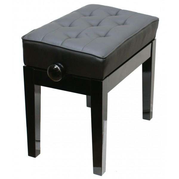 125 SA Piano Stool leather top