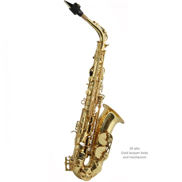 Trevor James SR Alto Sax Outfit (Gold Lacquer)