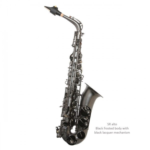 Trevor James SR Alto Sax Outfit (Black Frosted)
