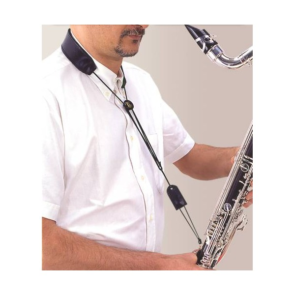BG France Bass Clarinet Strap Leather Loop Attachment