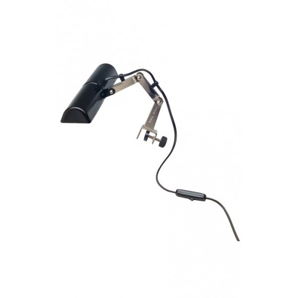 K&M Double Music Stand Light