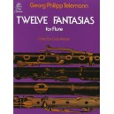 Georg Philipp Telemann: Twelve Fantasies For Solo Flute - Telemann, Georg Philipp (Artist)