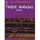 Georg Philipp Telemann: Twelve Fantasies For Solo Flute - Telemann, Georg Philipp (Artist)