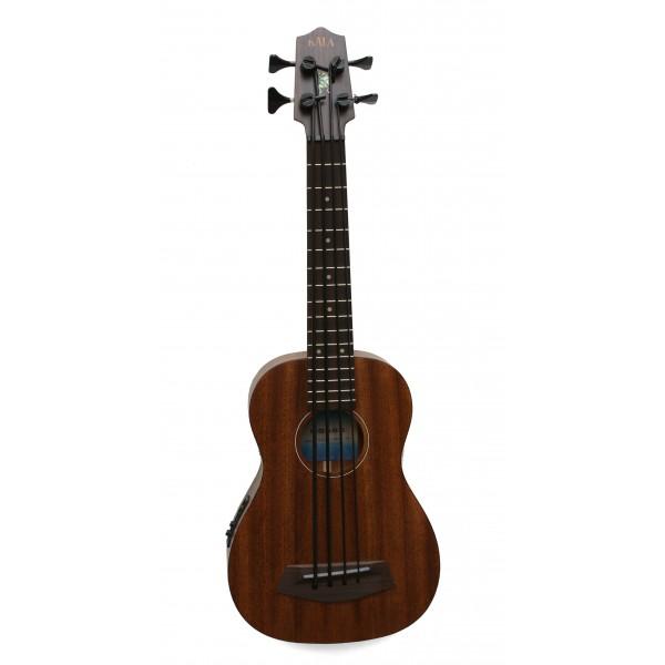 Kala UBASS-SMHG-FL all solid mahogany Fretless electro Bass Ukulele