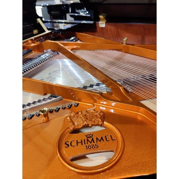 Schimmel C169T Grand Piano interior detail