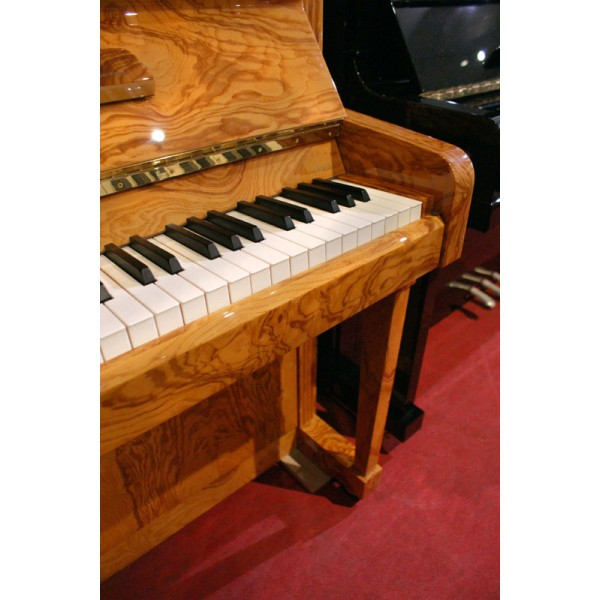 Schimmel C126T Upright Piano in Olive Ash