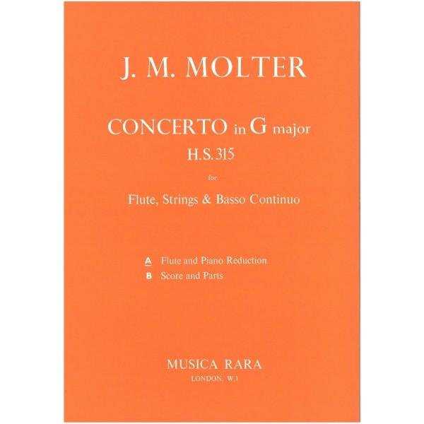 Molter, J M - Concerto in G major