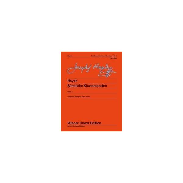 Haydn, F J - Complete Piano Sonatas Vol 3
