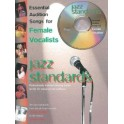 Essential Audition Songs For Female Vocalists: Jazz Standards (Piano/Voice/Guitar)