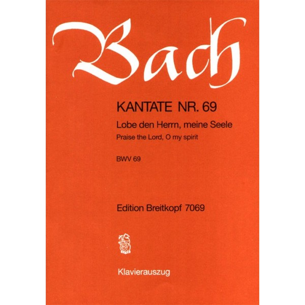 Bach, J S - Cantata Number 69 (BWV69)