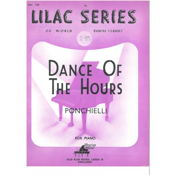 Ponchielli - Dance of the Hours (Piano Solo)
