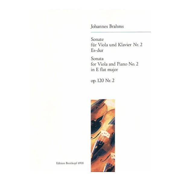 Brahms, Johannes - Viola Sonata Number Two