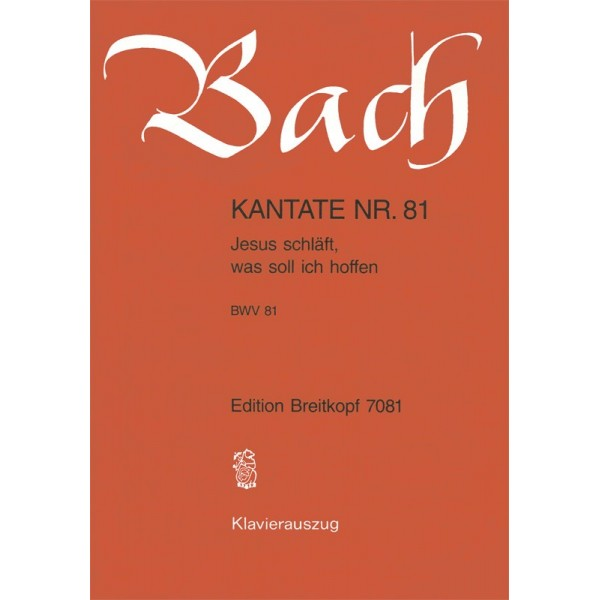 Bach, J S - Cantata Number 81 (BWV81)