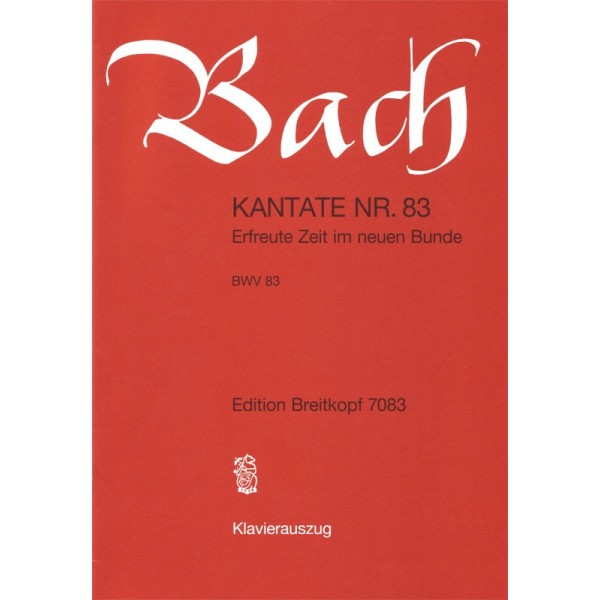 Bach, J S - Cantata Number 83 (BWV83)
