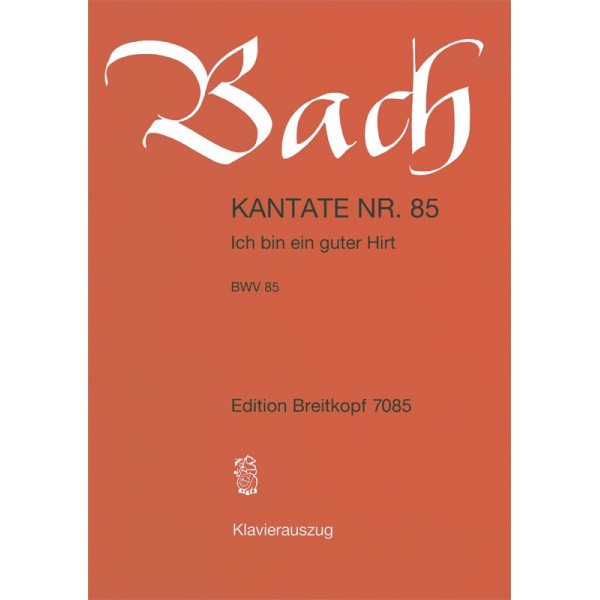 Bach, J S - Cantata Number 85 (BWV85)
