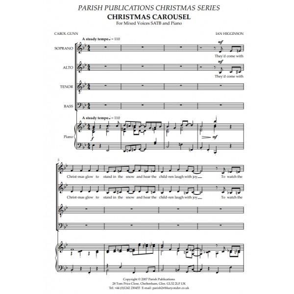Higginson, Ian - Christmas Carousel (SATB & Keyboard)