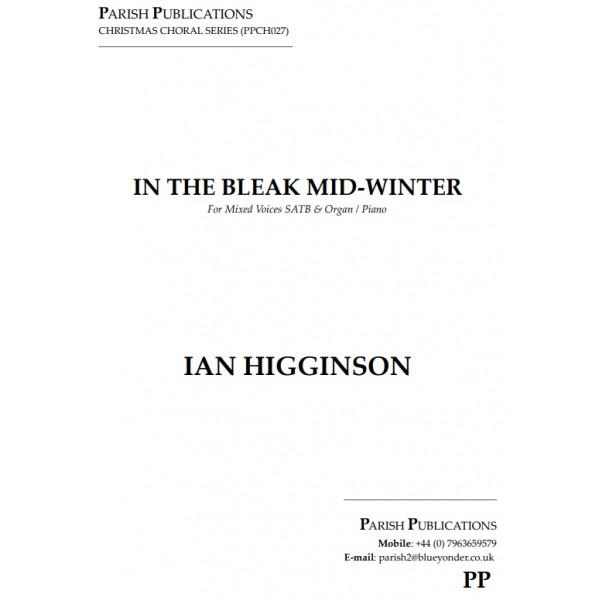Higginson, Ian - In the Bleak Mid-Winter (SATB & Keyboard)
