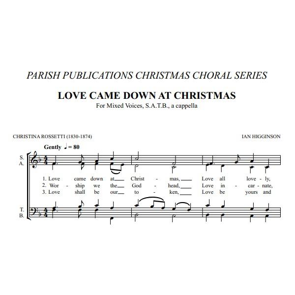 Higginson, Ian - Two Carols (SATB a Cappella)