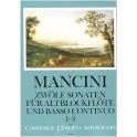 Mancini, Francesco - 12 Sonatas Book One