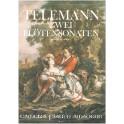 Telemann, G P - Two Flute Sonatas