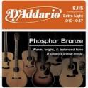 D'Addario Phosphor Bronze Acoustic Guitar String Packs