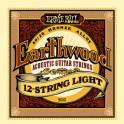 Ernie Ball Earthwood 80/20 Bronze Acoustic Guitar 12 String Packs