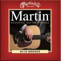 Martin 80/20 Bronze Acoustic Guitar String Packs