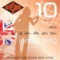 Rotosound Jumbo King Phosphor Bronze Acoustic Guitar String Packs