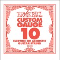 Ernie Ball Plain Steel Electric/Acoustic Single Guitar String