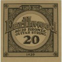 Ernie Ball Earthwood 80/20 Bronze Acoustic Single Guitar String