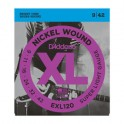 D'Addario XL Nickel Wound Electric Guitar String Packs