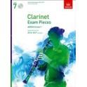 Clarinet Exam Pieces 2014-17 Grade Seven