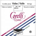 Corelli Crystal 4/4 Medium Violin Strings