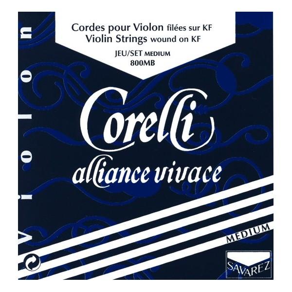 Corelli Alliance Vivace 4/4 Medium Violin Strings