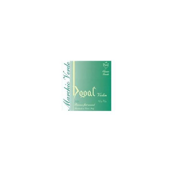 Dogal Marchio Verde Full Set Medium Violin String Packs