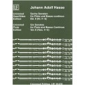 Hasse, Johann Adolf - Six Flute Sonatas