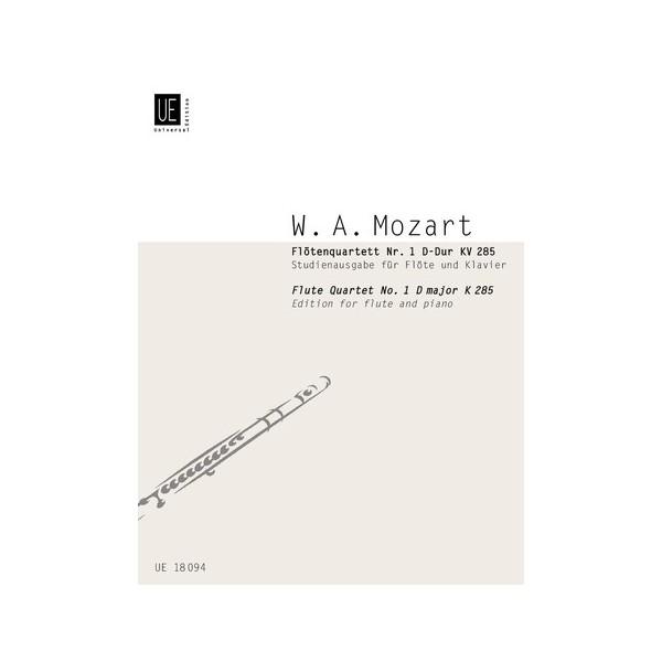 Mozart, W A - Flute Quartet No. 1 in D major K 285