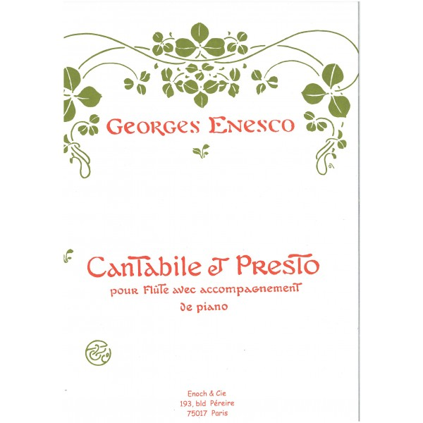 Enesco - Cantabile & Presto