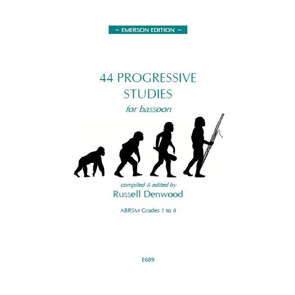 44 Progressive Studies for Bassoon