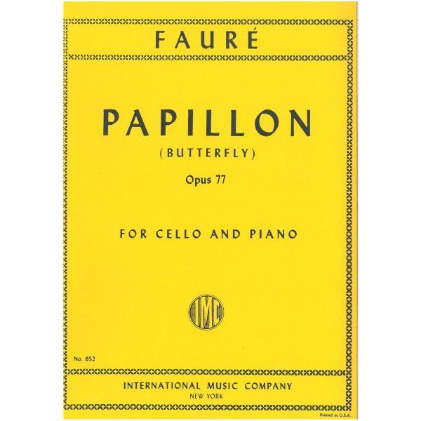 Faure, Gabriel - Papillon