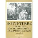 Hotteterre, J M - Four Suites Op5 Nºs 3 & 4