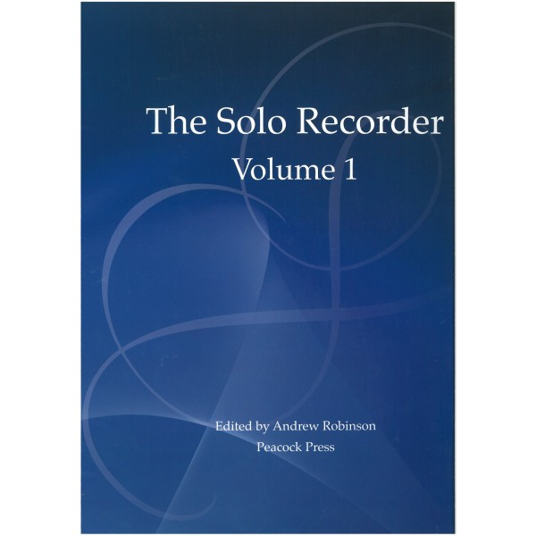 The Solo Recorder: Volume One
