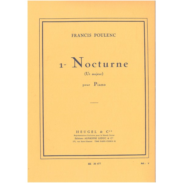 Poulenc, Francis - First Nocturne (C major)