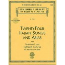 24 Italian Songs and Arias of The 17th And 18th Centuries - Medium Low Voice
