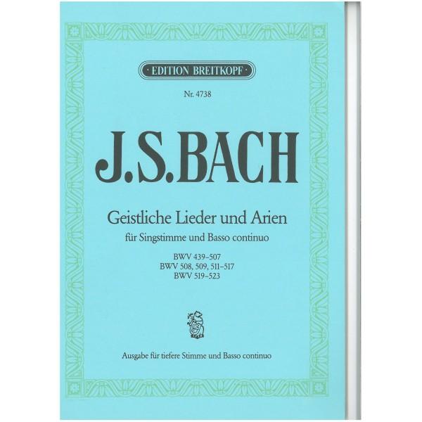 Bach, J S - Sacred Songs & Arias