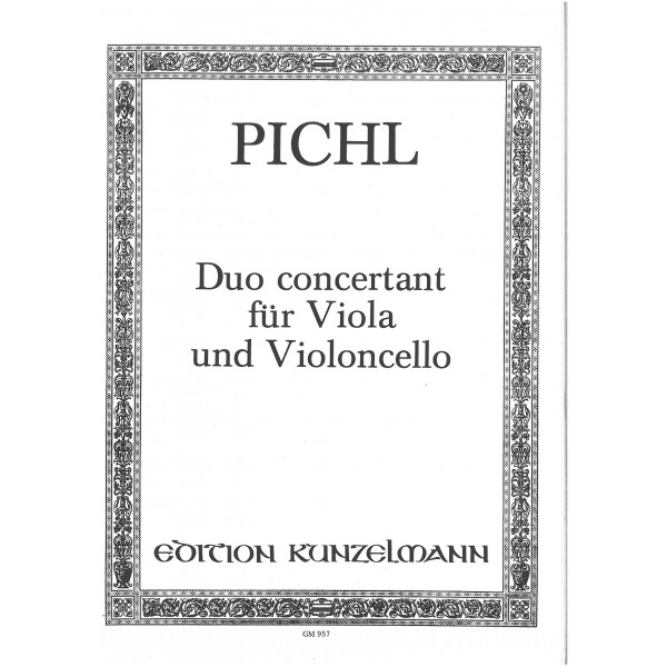 Pichl, Wenzeslaus - Duo Concertant