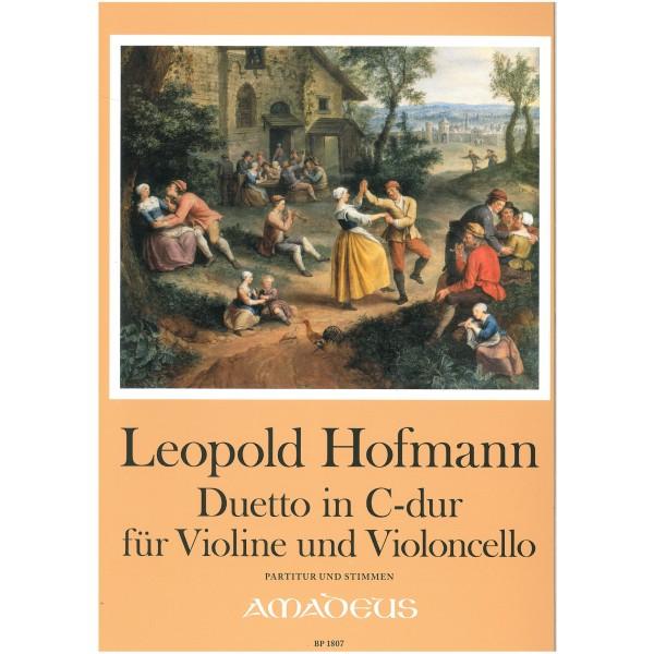 Hofmann, Leopold - Duetto in C major