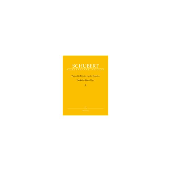 Schubert, Franz - Works for Piano Duet III