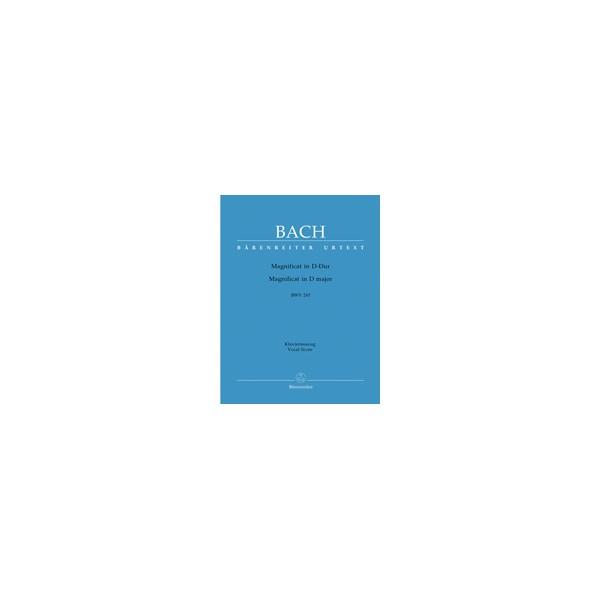 Bach, J S Magnificat D major BWV 243