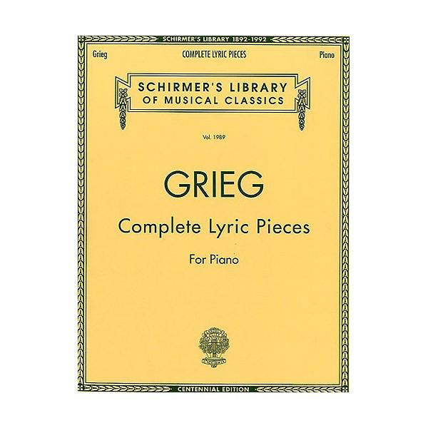 Edvard Grieg: Complete Lyric Pieces For Piano - Grieg, Edvard (Artist)